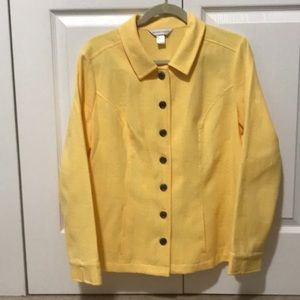 🔥🔥SALE🔥🔥Christopher & Banks Yellow Blazer